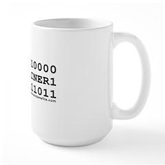 Domainer Large Mug