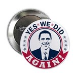 Obama Yes We Did Again Color 2.25
