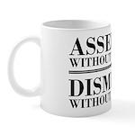 Dismissed Without Evidence Atheist Mug