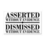 Dismissed Without Evidence Atheist Rectangle Car M