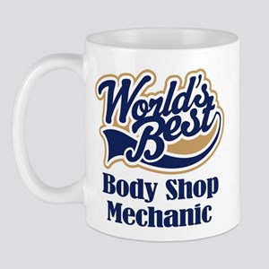 Body Shop Mechanic (Worlds Best) Mug