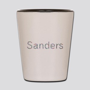 Sanders Paper Clips Shot Glass