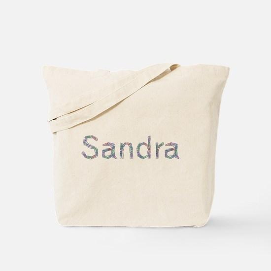 Sandra Paper Clips Tote Bag