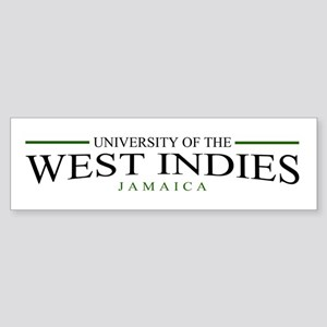 University of the W.I. bumper sticker