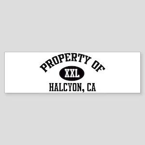 Property of HALCYON Bumper Sticker