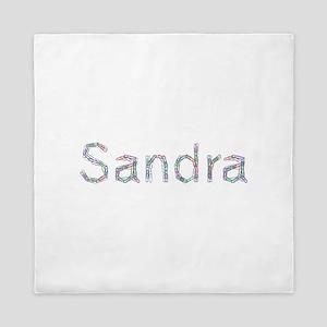Sandra Paper Clips Queen Duvet