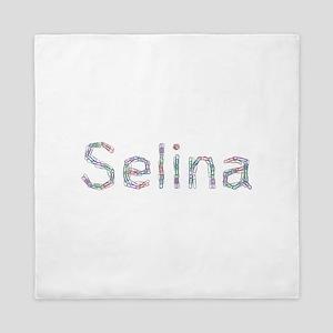Selina Paper Clips Queen Duvet