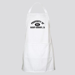Property of HAIGHT-ASHBURY BBQ Apron