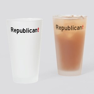 Republicant Drinking Glass