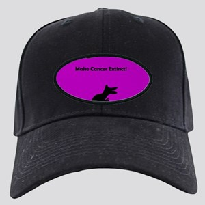 Make Cancer Extinct Purple Black Dinosaur Black Ca