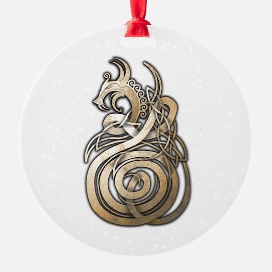 Norse Dragon Ornament