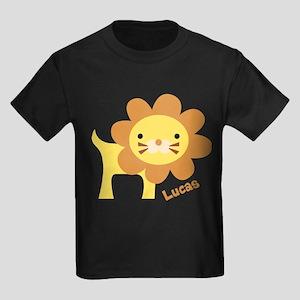 Jungle Lion Kids Dark T-Shirt