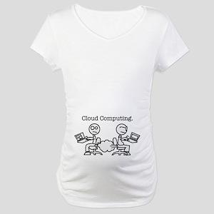 Cloud Computing Maternity T-Shirt