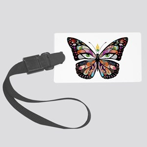Belly Dance Shimmy Chic Large Luggage Tag