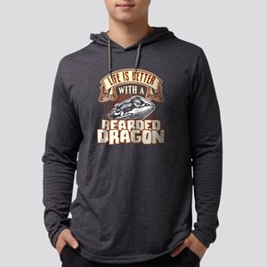 LIFE IS BETTER WITH A BEARDED DR Mens Hooded Shirt
