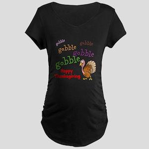 Thanksgiving - Maternity Dark T-Shirt