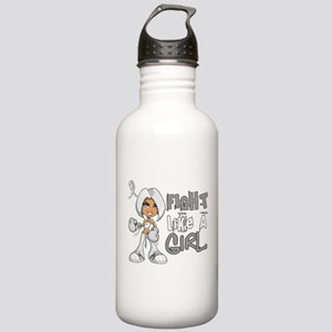 Fight Like a Girl 42.8 Lung Cancer Stainless Water