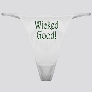 Wicked Good! Classic Thong