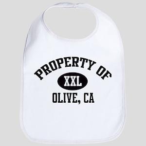 Property of OLIVE Bib