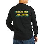 Brazilian Jiu Jitsu Long Sleeve Dark T-Shirt