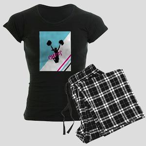 Aqua | Pink Cheerleader Cheer Pajamas