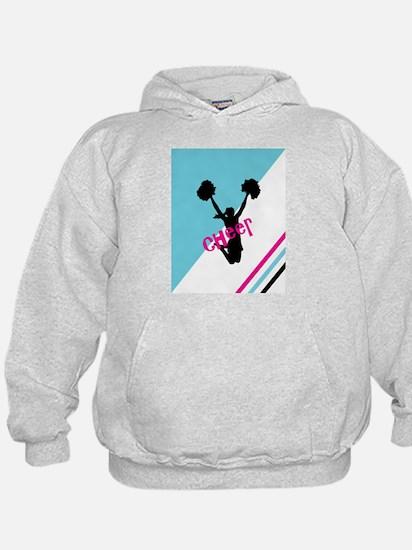 Aqua | Pink Cheerleader Cheer Sweatshirt