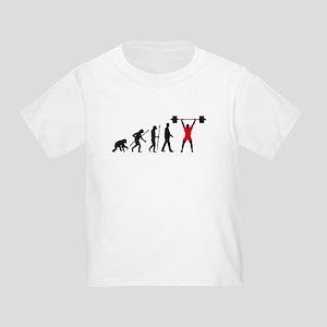 evolution weightlifter Toddler T-Shirt