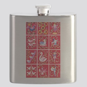 Twelve days of Christmas Flask
