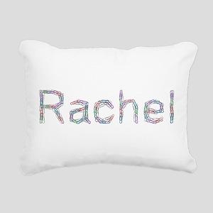 Rachel Paper Clips Rectangular Canvas Pillow