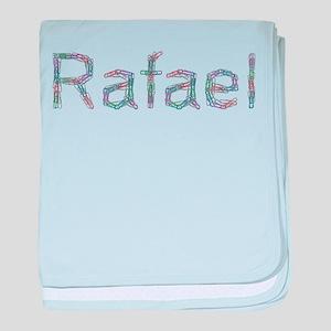 Rafael Paper Clips baby blanket