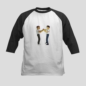 Wing Chun Kung Fu Kids Baseball Jersey