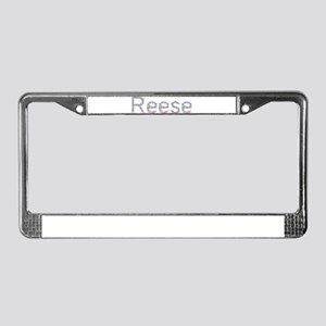 Reese Paper Clips License Plate Frame