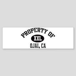 Property of OJAI Bumper Sticker