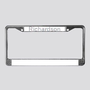 Richardson Paper Clips License Plate Frame