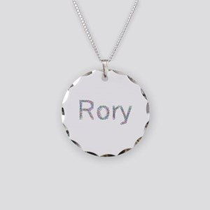 Rory Paper Clips Necklace Circle Charm