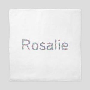 Rosalie Paper Clips Queen Duvet