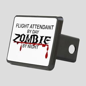 Flight Attendant Zombie Rectangular Hitch Cover
