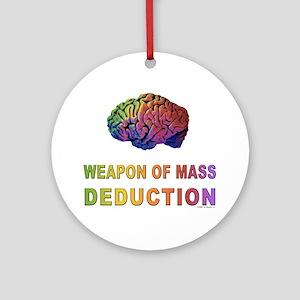 Brain WMD Ornament (Round)