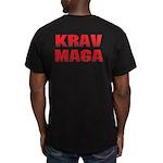 Krav Maga Men's Fitted T-Shirt (dark)