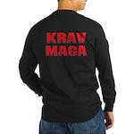 Krav Maga Long Sleeve Dark T-Shirt