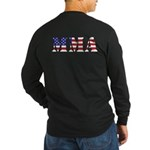 MMA USA Long Sleeve Dark T-Shirt