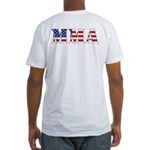 MMA USA Fitted T-Shirt
