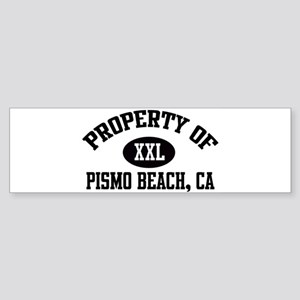Property of PISMO BEACH Bumper Sticker