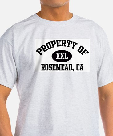 Property of ROSEMEAD Ash Grey T-Shirt
