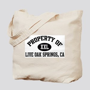 Property of LIVE OAK SPRINGS Tote Bag