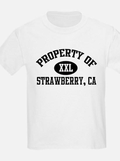 Property of STRAWBERRY Kids T-Shirt