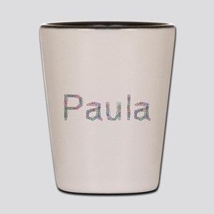 Paula Paper Clips Shot Glass