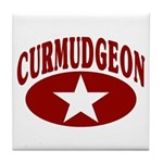 Curmudgeon Tile Coaster