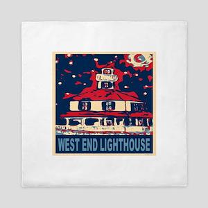 New Orleans Lighthouse Queen Duvet