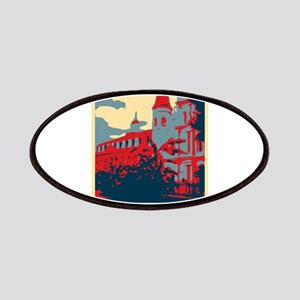 French Quarter in Red and Blue Patches